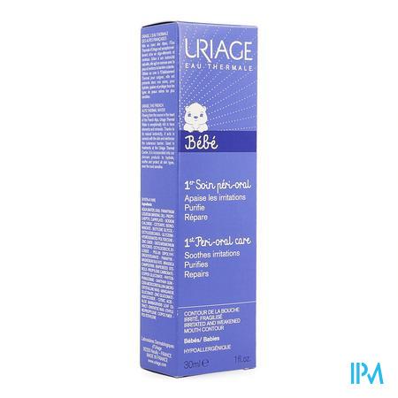 Afbeelding Uriage Soin Péri-Oral Herstellende Crème bij Irritatie en Roodheid rond Mond voor Baby's Tube 30 ml.