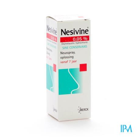 Nesivine Volwassenen Sine Conservans 15 ml spray