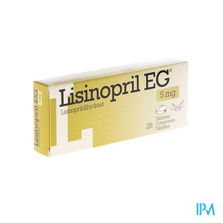 Lisinopril Eg Comp 28 X 5mg