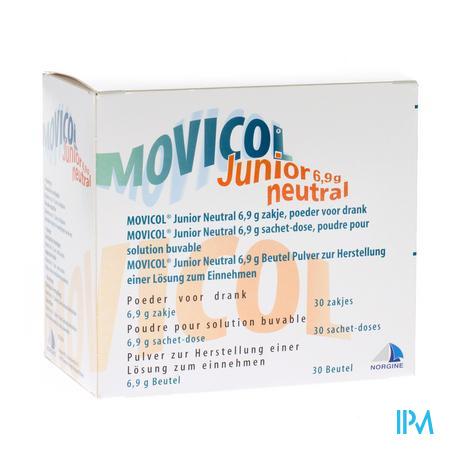 Movicol Junior Neutral Sachets 30 X 6,9g
