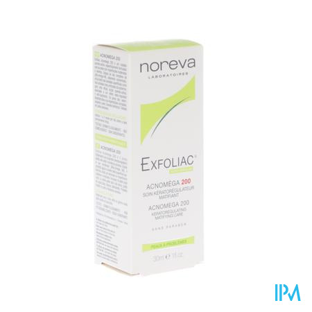 Exfoliac Acnomega 200 Creme Tube 30ml