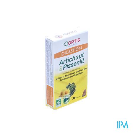 Ortis Artichaut Pissenlit Bio 36 capsules