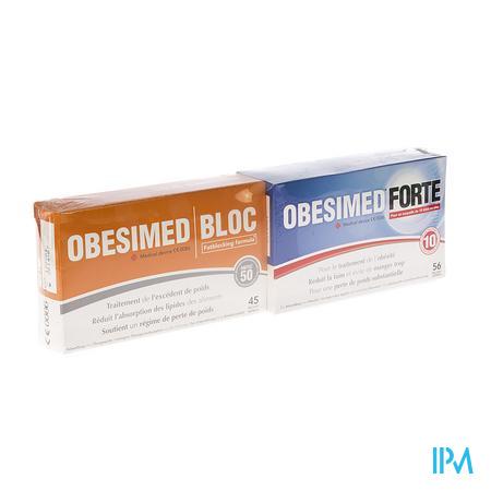 Obesimed Forte + Obesimed Bloc -10€ 56+45 comprimés