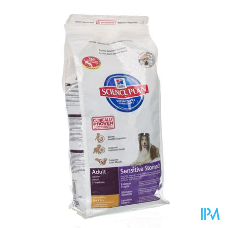 Hills Canine Hond Adult Sensitive Stomach 3 kg