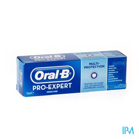 Oral B Pro Expert Multiprotection Clean Douce 75 ml