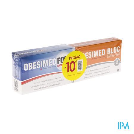 Obesimed Forte + Obesimed Bloc -10€ 56+45 tabletten