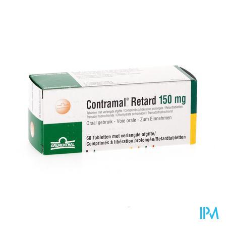Contramal Retard 150mg Comp 60