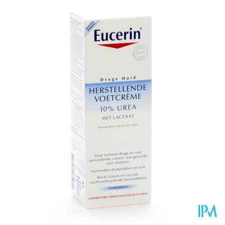 Afbeelding Eucerin Herstellende Voetcreme 10% urea 100ml.