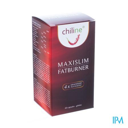 Afbeelding Chiline Maxislim Fatburner 60 Capsules.
