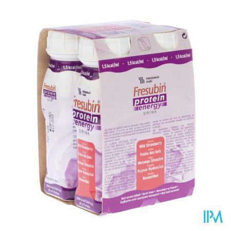 Fresubin Protein Energy Drink Frais.bois Fl4x200 ml