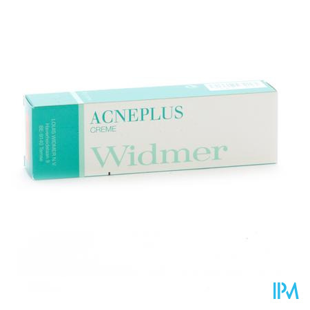 WIDMER ACNEPLUS CREME N/PARF 30G