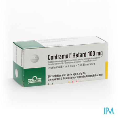 Contramal Retard 100mg Comp 60