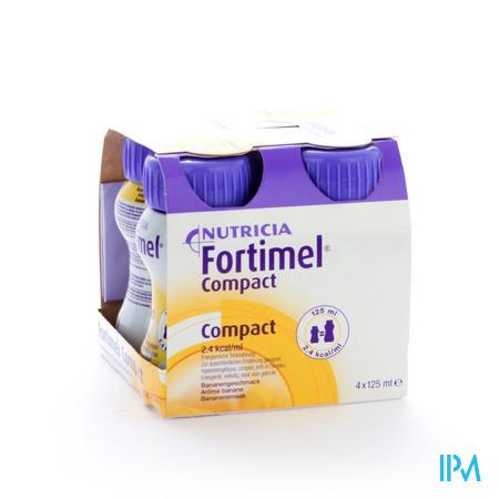 Fortimel Compact Banane 4 x 125 ml