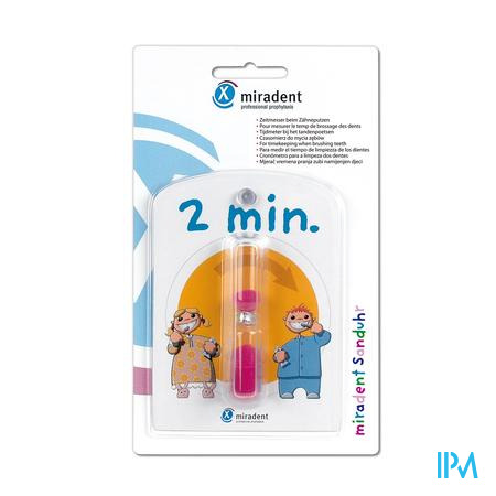 Miradent Zandloper 2 minuten