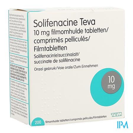 Solifenacine Teva Filmomh Tabl 2 X 100 X 10mg