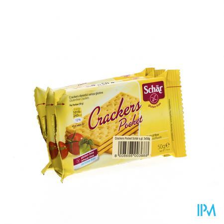 Schär Cracker Pocket Glutenvrij 3 stuks