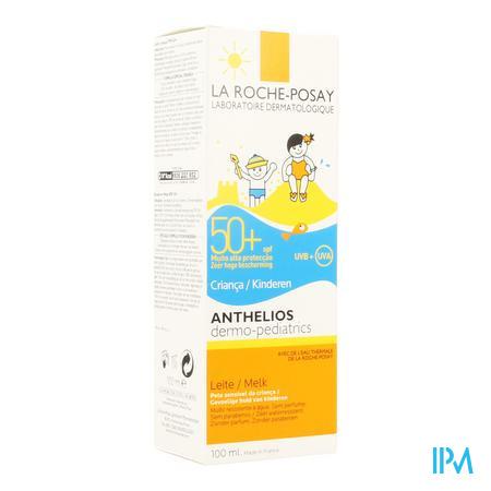 Afbeelding La Roche-Posay Anthelios Zonnemelk SPF 50+ voor Kinderen 100 ml.