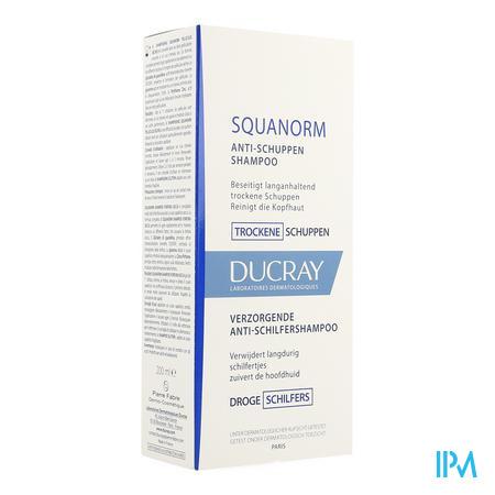Afbeelding * Ducray Squanorm Verzorgende Anti-Roosshampoo voor Droge Schilfertjes Flacon 200 ml.