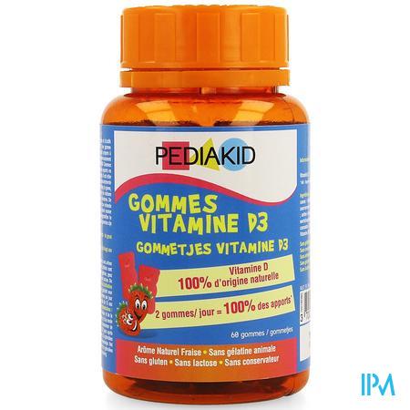 Pediakid Vitaminen D3 Gommetjes 68