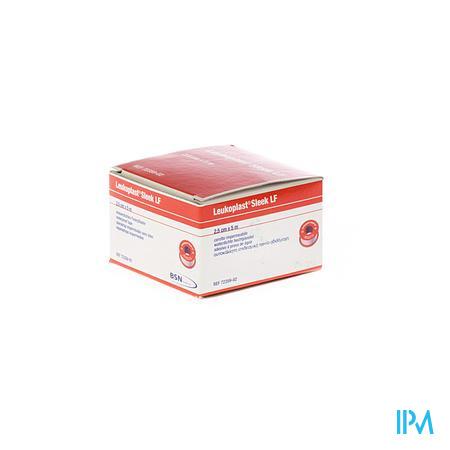 Leukoplast Sleek Spoel+Deksel 2,50Cmx5m 1 stuk