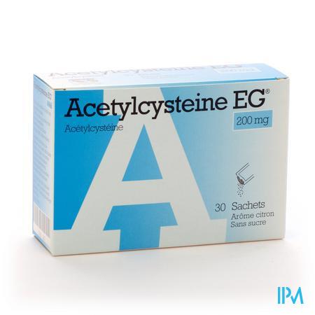 Acétylcystéine EG 200mg 30 sachets