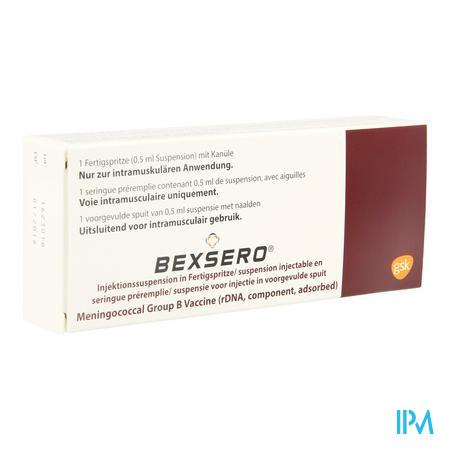Bexsero Susp Inj Voorgevulde Spuit 1 Dosis