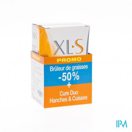 XLS Duo Hanches & Cuisses + Capteur Des Grasses -50% PROMO 30+60 comprimés
