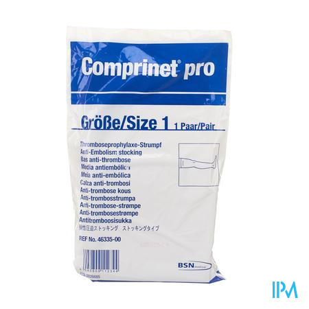 Comprinet Pro Thigh Bas Anti embolie T1 1pair 4633500