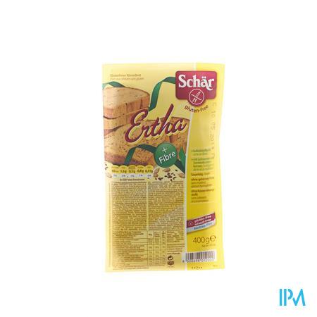 Schär Ertha Bruin Brood 400 g
