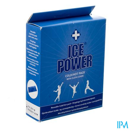 Ice Power Cold Hot Pack + Cover 1 stuk