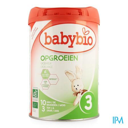 Babybio Groeik Opvolgmelk Bio Bifidus Pdr 900g