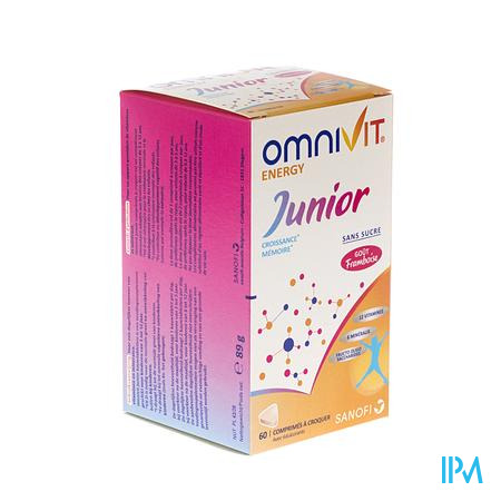 Omnivit Junior 60 comprimés à croquer