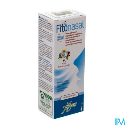 Fitonasal 2act Neusspray 15ml Aboca
