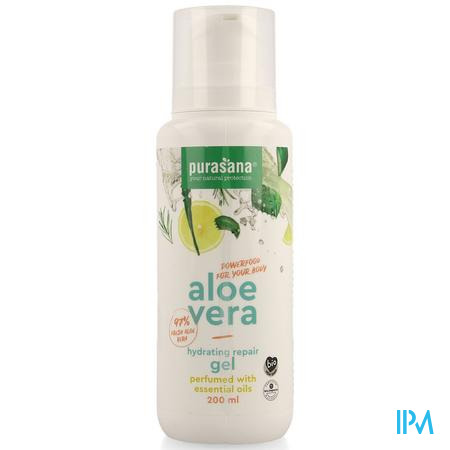 Aloe Vera Pure Gel Parfum. Ess. Olie 200ml