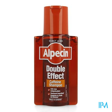 Alpecin Double Effect Shampoo Fl 250ml