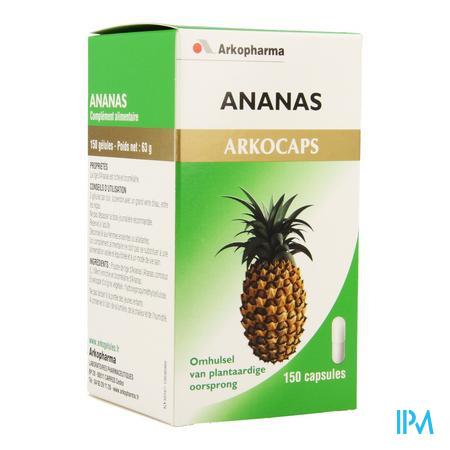 ArkoCapsule Ananas Plantaardig 150