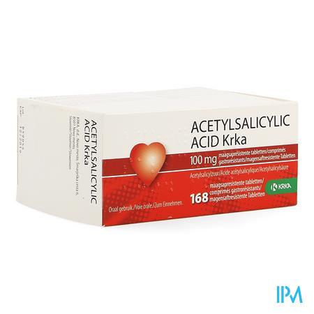 Acetylsalicylic Acid Krka 100mg Maagsapres.comp168