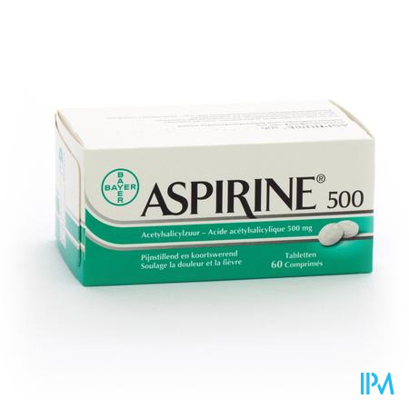 ASPIRINE 500 MG COMP  60