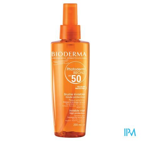 Bioderma Photoderm Bronz Spf50+ Mist Spray 200 ml flacon