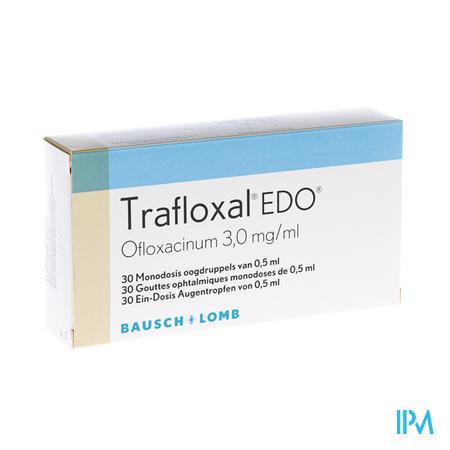 Trafloxal Edo 30 X 0,5ml Ud