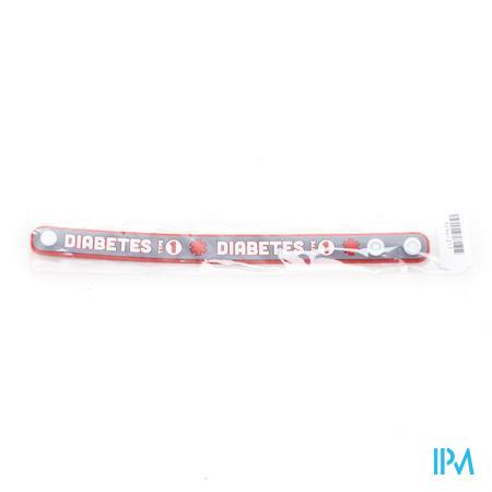 Armband Silicone Diabetes 1