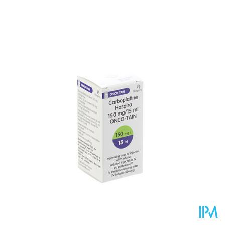 Carboplatine Onco Tain Iv Perf 1x15ml 10mg/ml