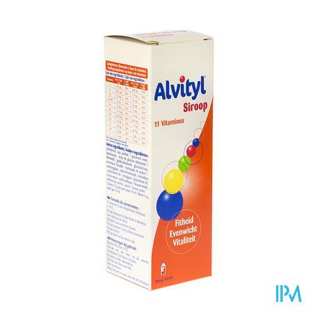 Farmawebshop - ALVITYL SIR NF 150ML