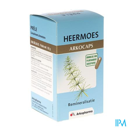 Arkocaps Heermoes Plantaardig 150 capsules