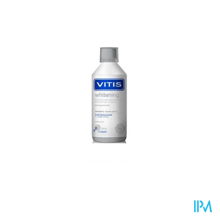 Vitis Whitening Mondspoelmiddel 500ml 3882