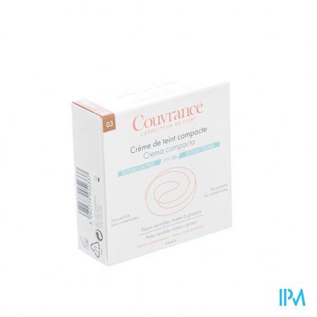 Avène Couvrance Getinte Compact Crème Oil-Free Sable SPF30 9.5 g