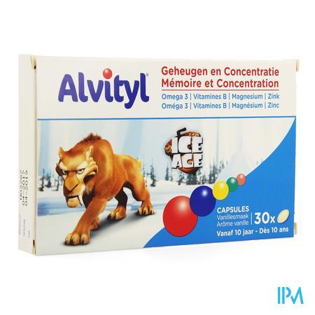 Alvityl Geheugen Concentratie Adg Caps 30
