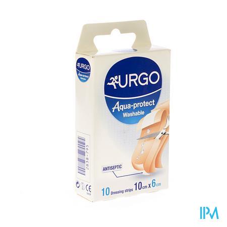 Urgo Aqua Protect Wasbaar 100x60mm 10 pleisters