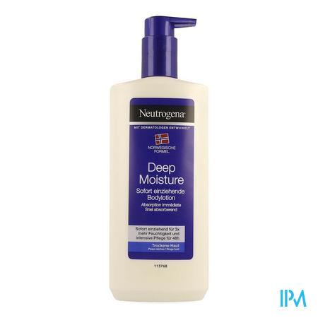 Neutrogena N/f Bodylotion Droge Huid 400ml