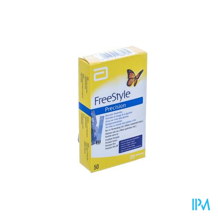 Freedom Freestyle Precision Strips 98817-70 50 pièces